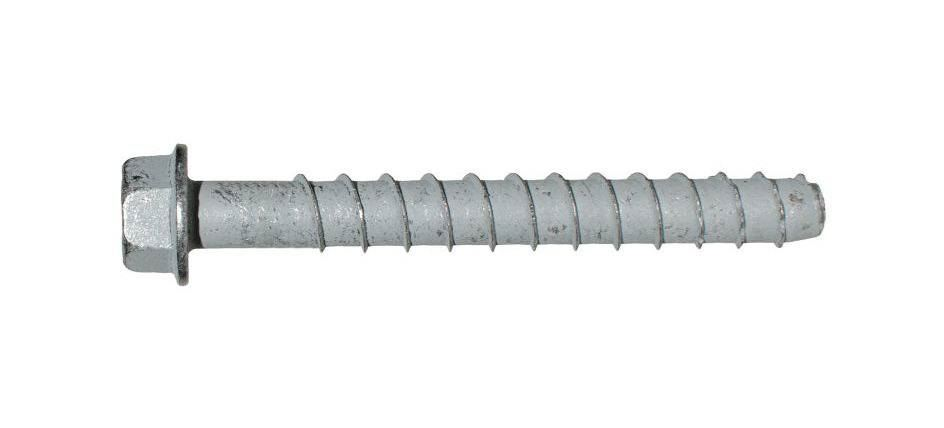 """Picture of 1/2"""" x 8"""" Simpson Strong-Tie Titen HD Screw Anchor Mechanically Galvanized, 20/Box"""
